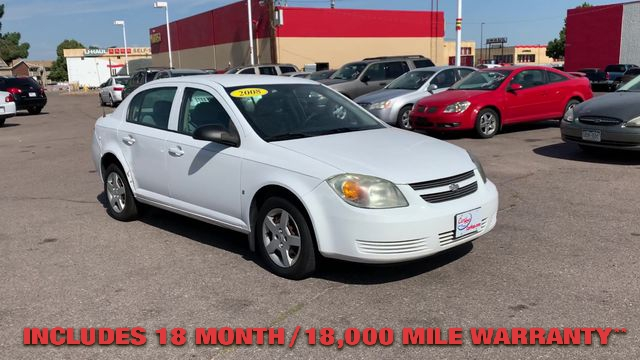 Pre-Owned 2008 CHEVROLET COBALT LS Sedan 4