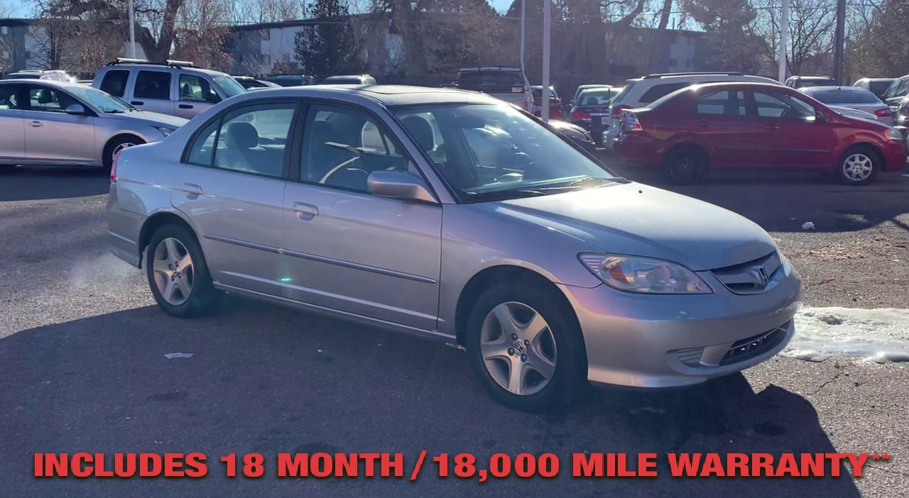 Pre-Owned 2005 Honda CIVIC EX Sedan 4