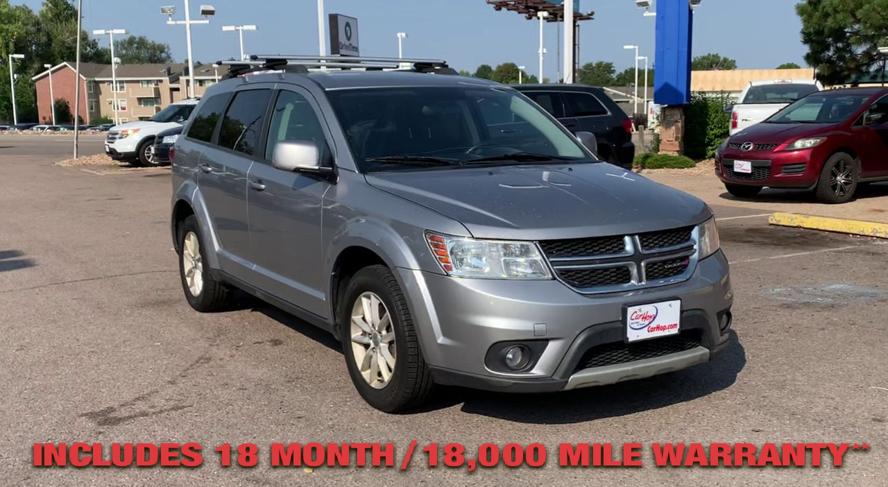 Pre-Owned 2016 DODGE JOURNEY SXT SPORT
