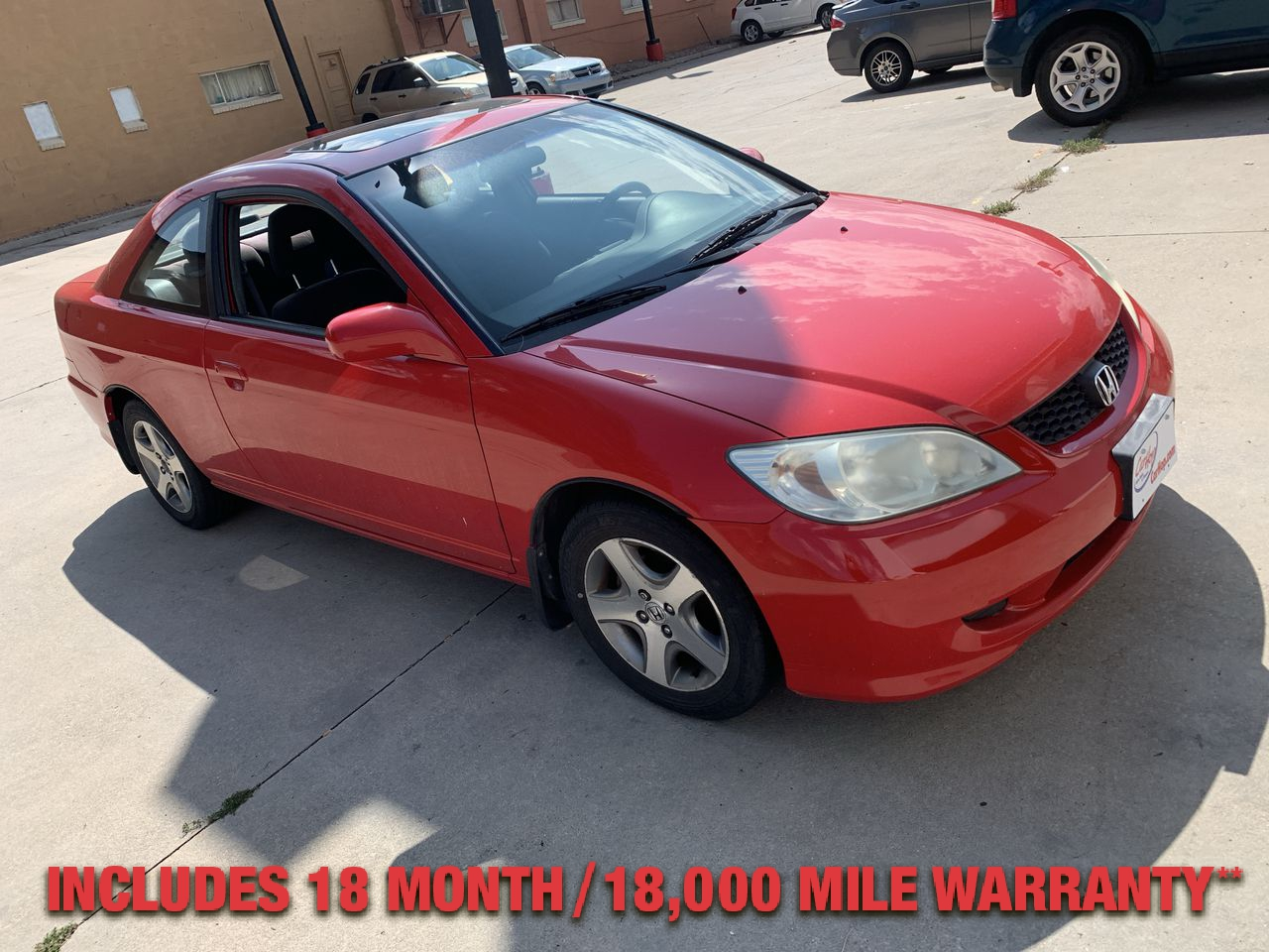 Pre-Owned 2004 Honda CIVIC EX COUPE 2