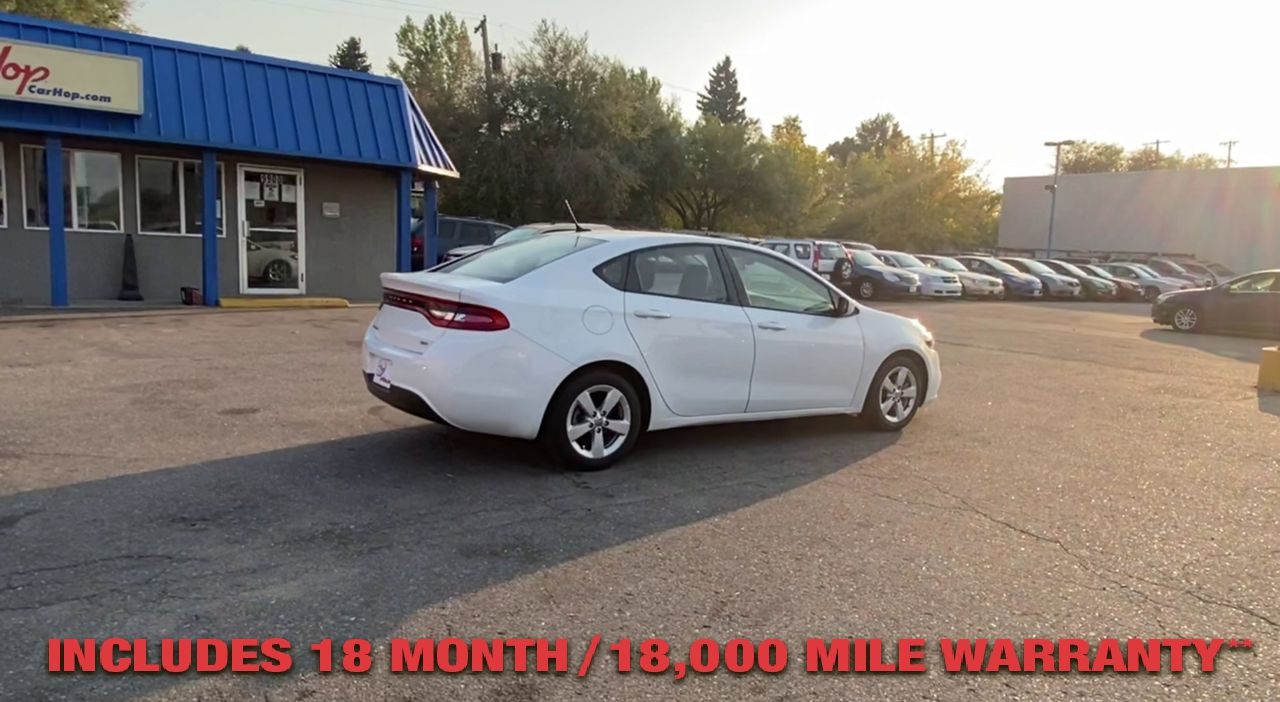Pre-Owned 2016 DODGE DART SXT Sedan