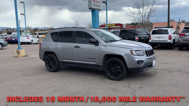 Pre-Owned 2015 JEEP COMPASS Altitude E