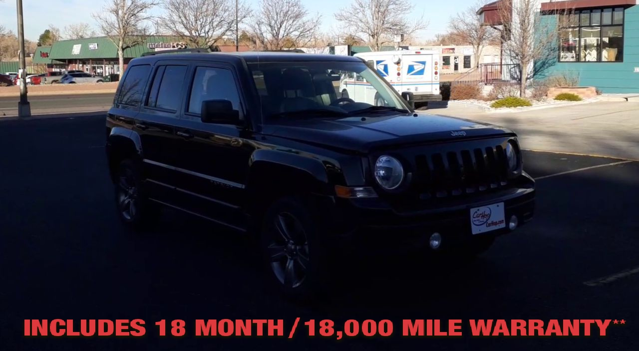 Pre-Owned 2015 JEEP PATRIOT Latitude S