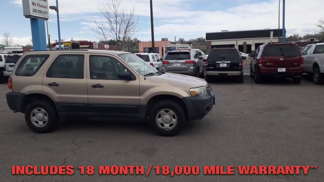 Pre-Owned 2007 FORD ESCAPE XLS Sport