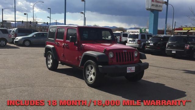 Pre-Owned 2007 JEEP WRANGLER UNLIMITED