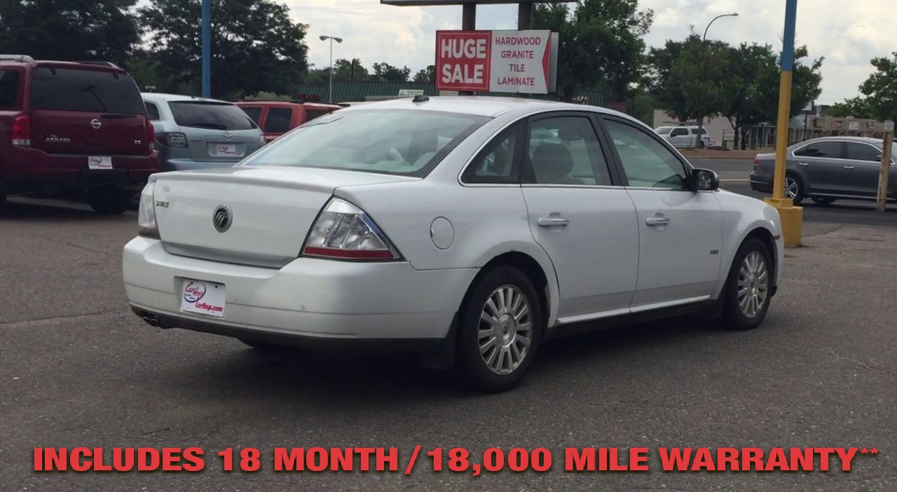 Pre-Owned 2008 MERCURY SABLE Sedan 4D