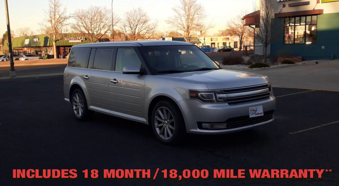 Pre-Owned 2015 FORD FLEX LIMITED SP
