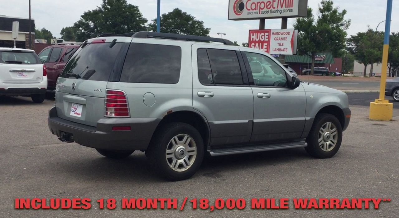 Pre-Owned 2005 MERCURY MOUNTAINEER Sport Util