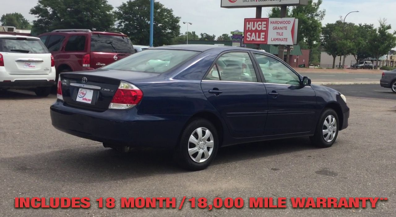 Pre-Owned 2006 TOYOTA CAMRY LE SEDAN 4
