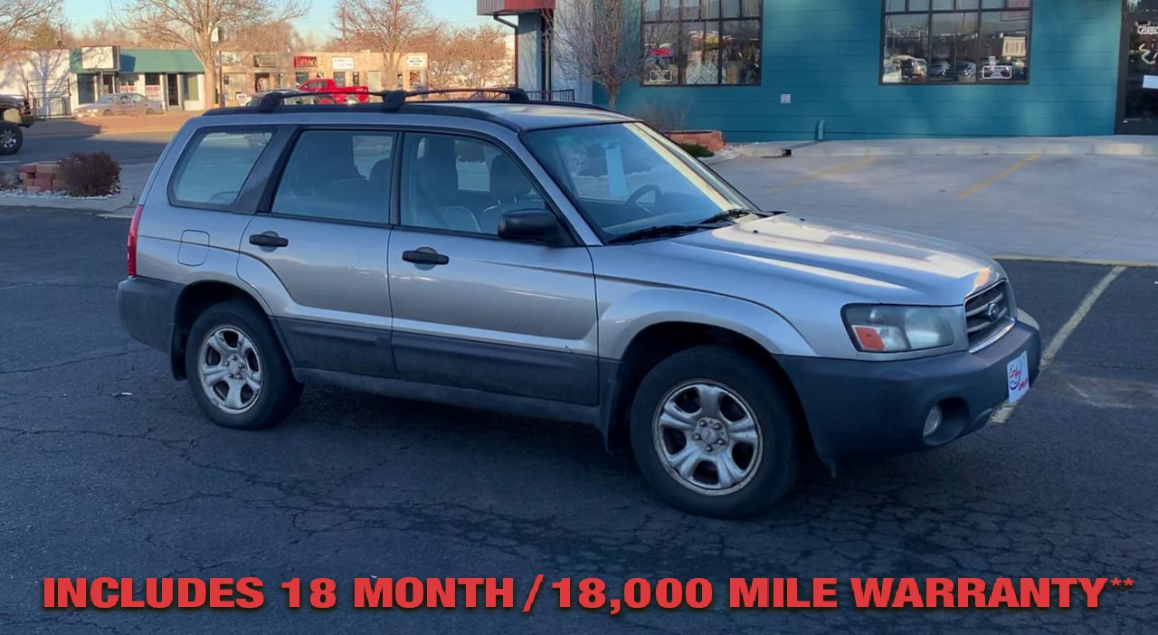 Pre-Owned 2005 SUBARU FORESTER X Sport Ut