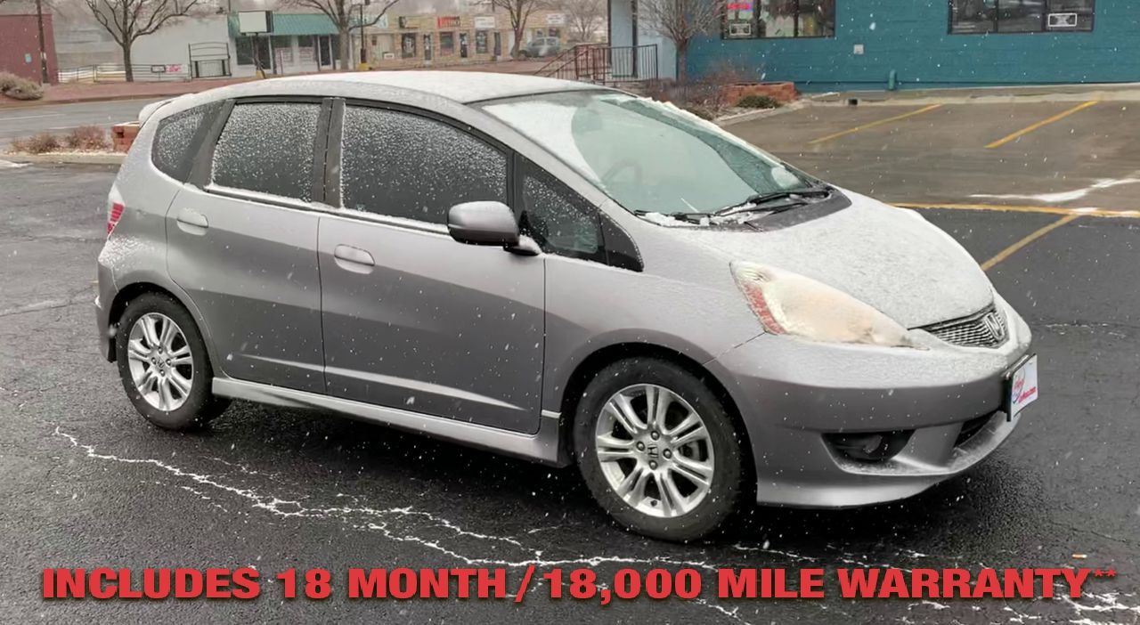 Pre-Owned 2009 Honda FIT Sport VSA