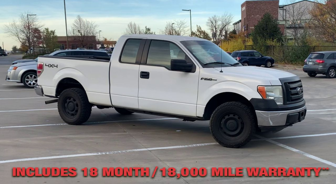 Pre-Owned 2010 FORD F150 FX4 SUPER