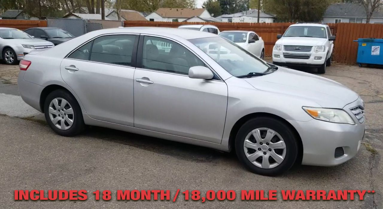 Pre-Owned 2011 TOYOTA CAMRY LE Sedan 4