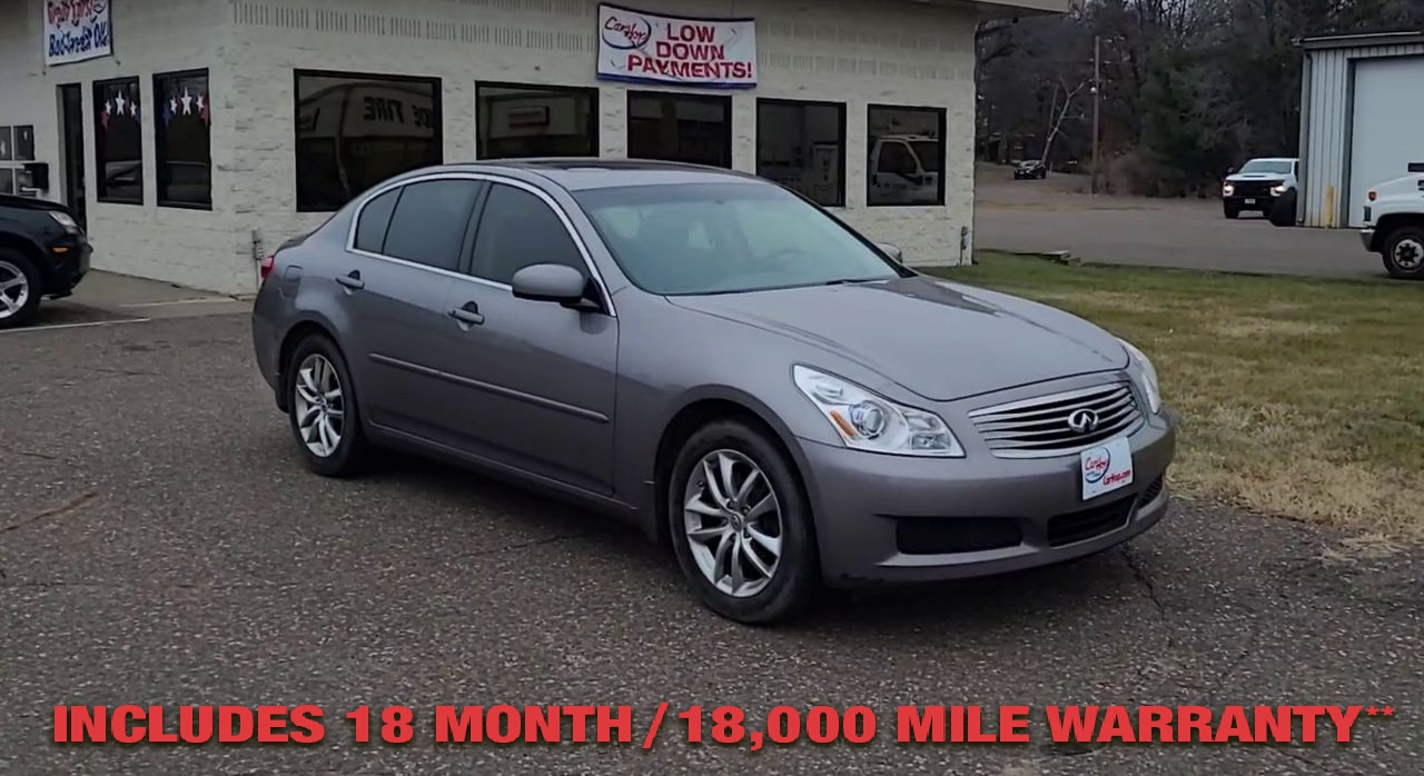 Pre-Owned 2008 INFINITI G35 G35x Sedan