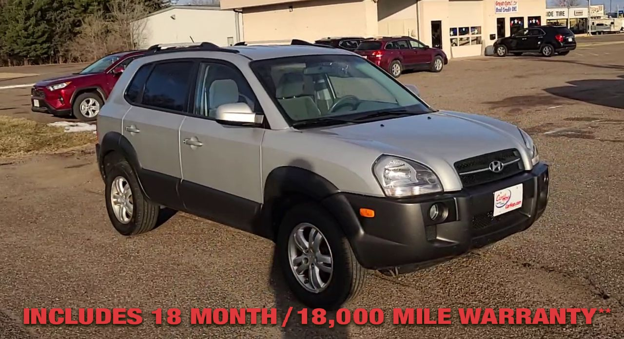 Pre-Owned 2008 HYUNDAI TUCSON Limited Sp