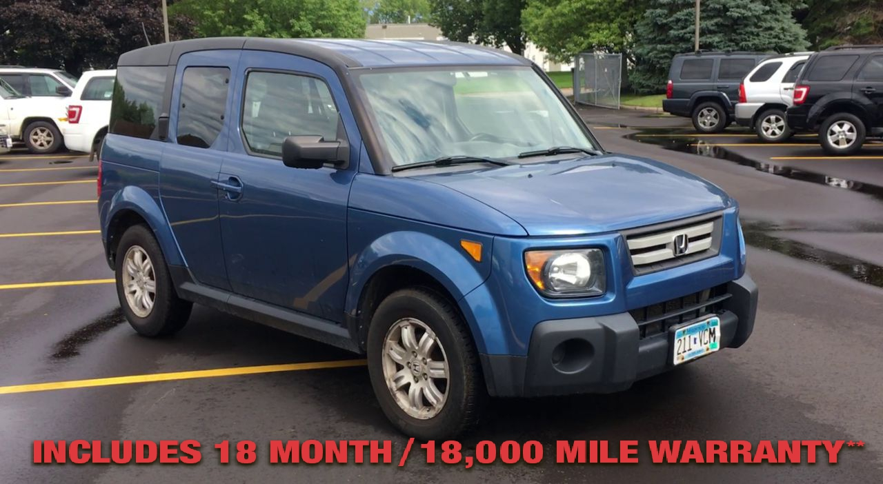 Pre-Owned 2007 Honda ELEMENT EX Sport U