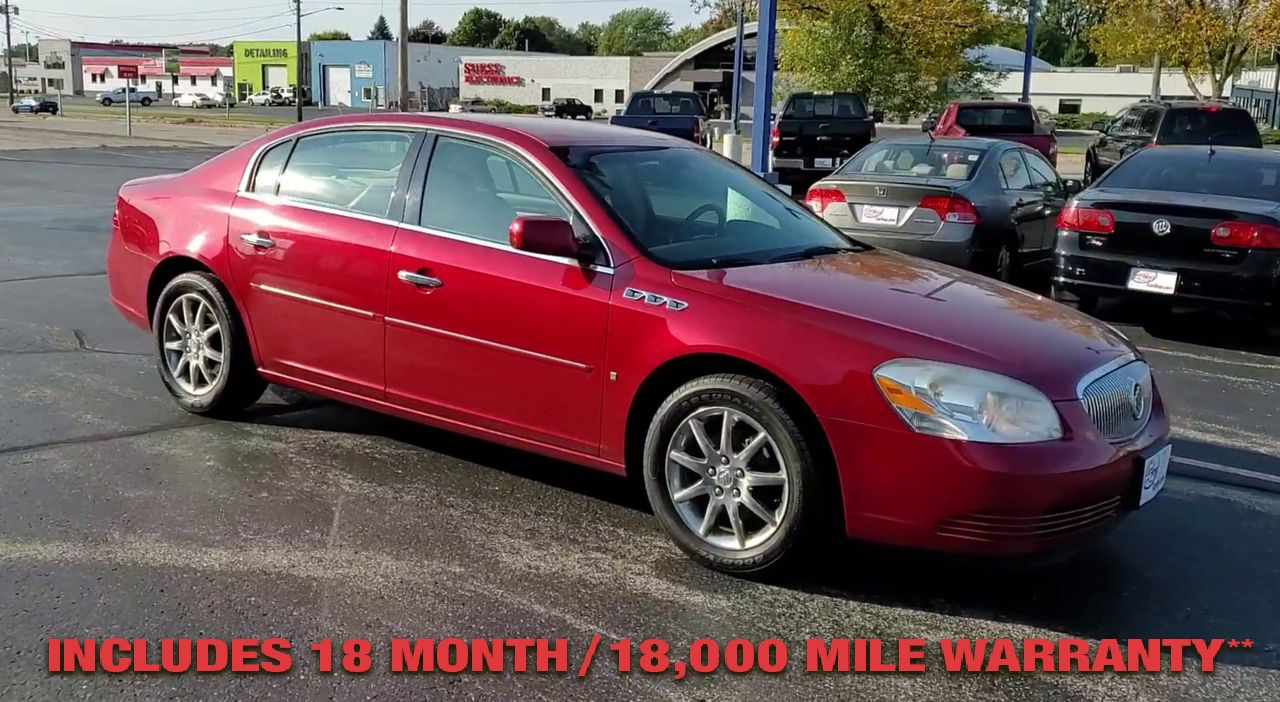 Pre-Owned 2008 BUICK LUCERNE CXL Sedan