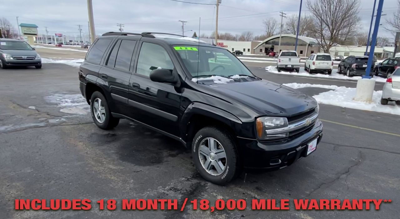 Pre-Owned 2005 CHEVROLET TRAILBLAZER LS Sport U