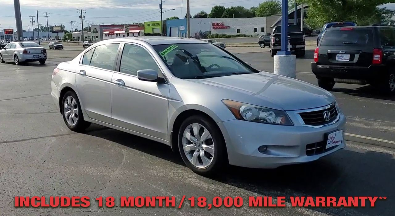 Pre-Owned 2008 Honda ACCORD EX-L Sedan