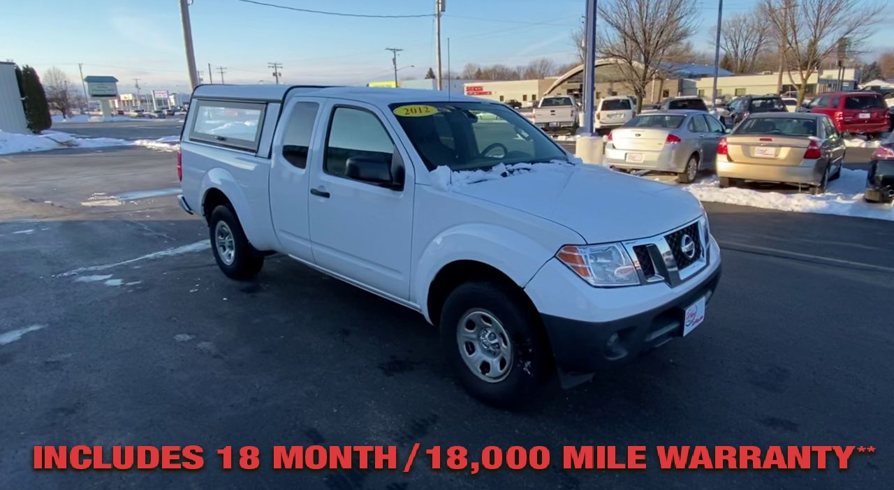 Pre-Owned 2012 NISSAN FRONTIER S PICKUP 2