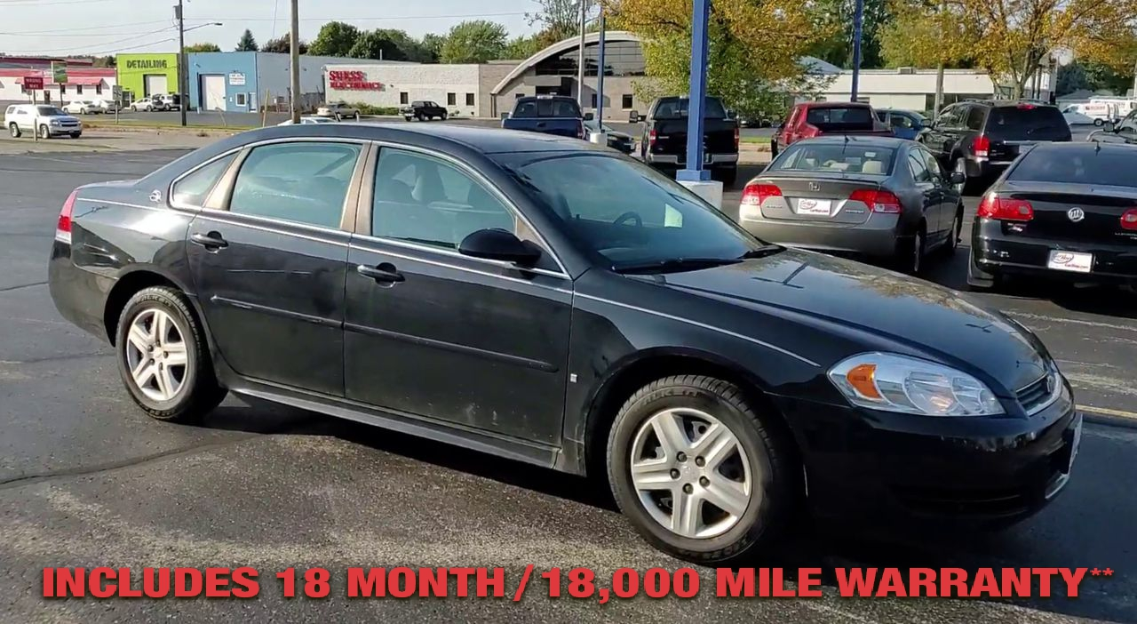 Pre-Owned 2009 CHEVROLET IMPALA LS SEDAN 4