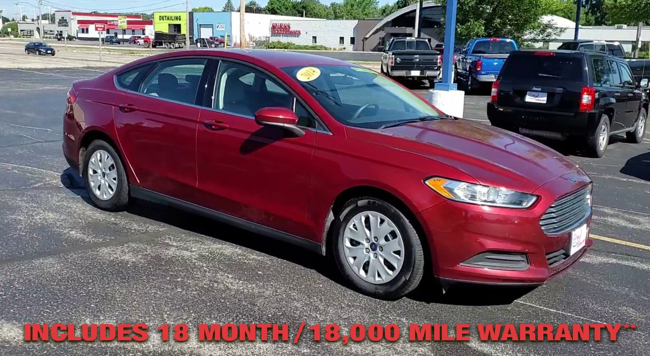 Pre-Owned 2014 FORD FUSION S Sedan 4D