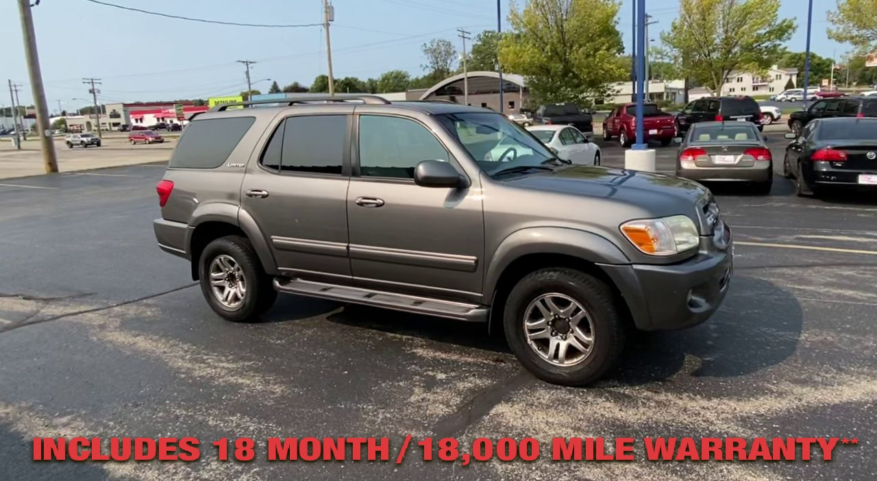 Pre-Owned 2005 TOYOTA SEQUOIA LIMITED SP