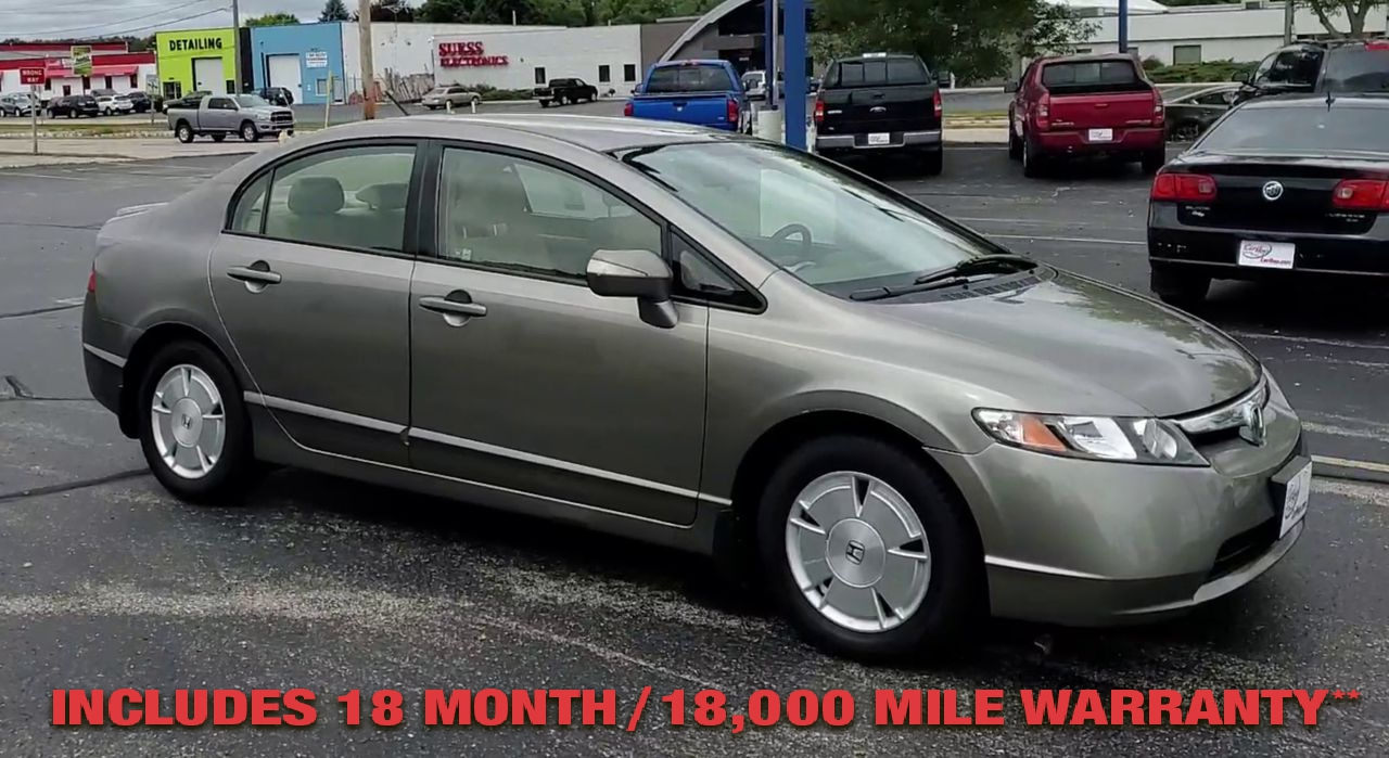 Pre-Owned 2007 Honda CIVIC Hybrid Sed