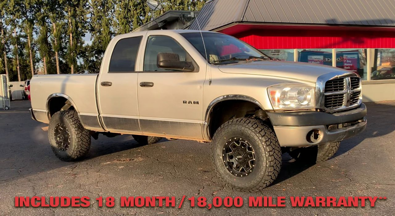 Pre-Owned 2008 DODGE RAM LARMIE