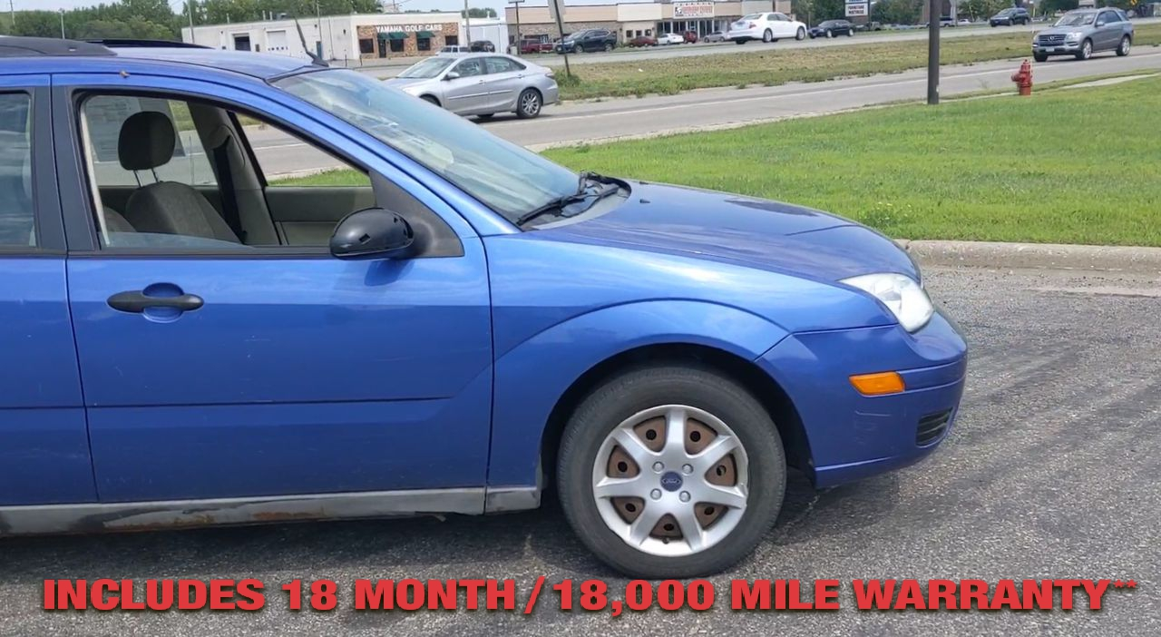 Pre-Owned 2005 FORD FOCUS ZXW SE