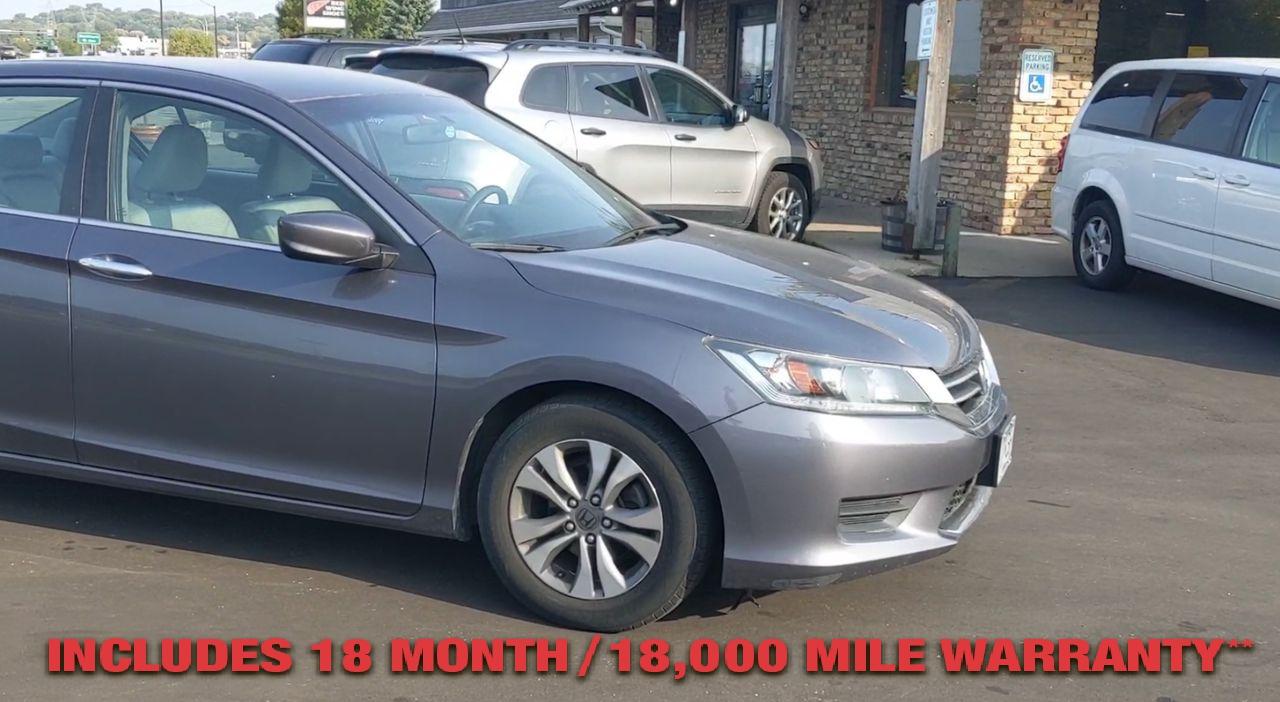 Pre-Owned 2014 Honda ACCORD LX SEDAN 4