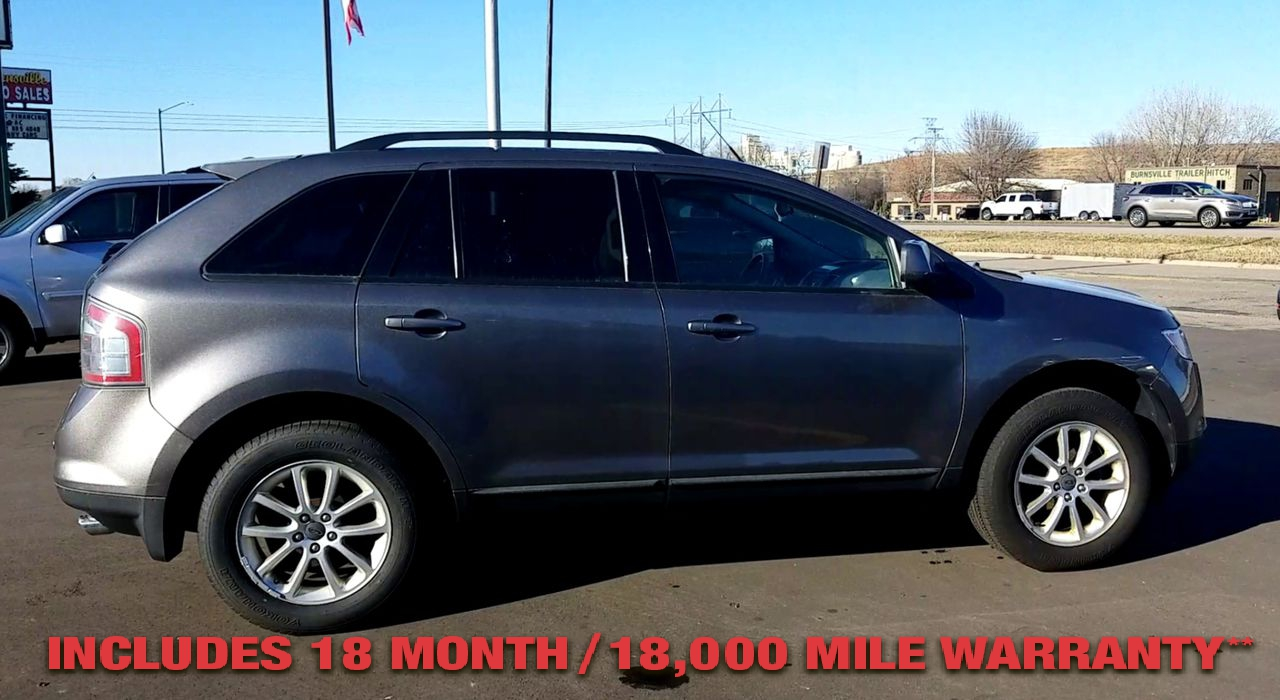 Pre-Owned 2009 FORD EDGE SEL Sport