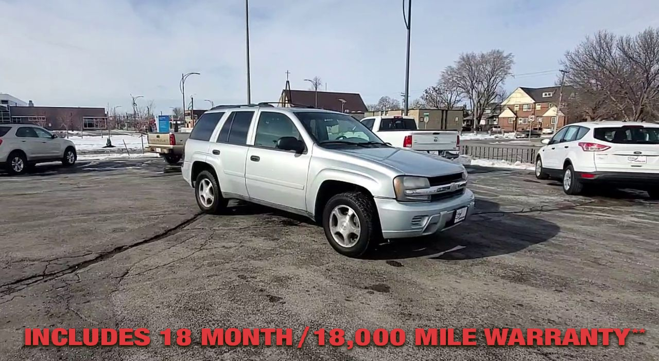 Pre-Owned 2007 CHEVROLET TRAILBLAZER LS Sport U