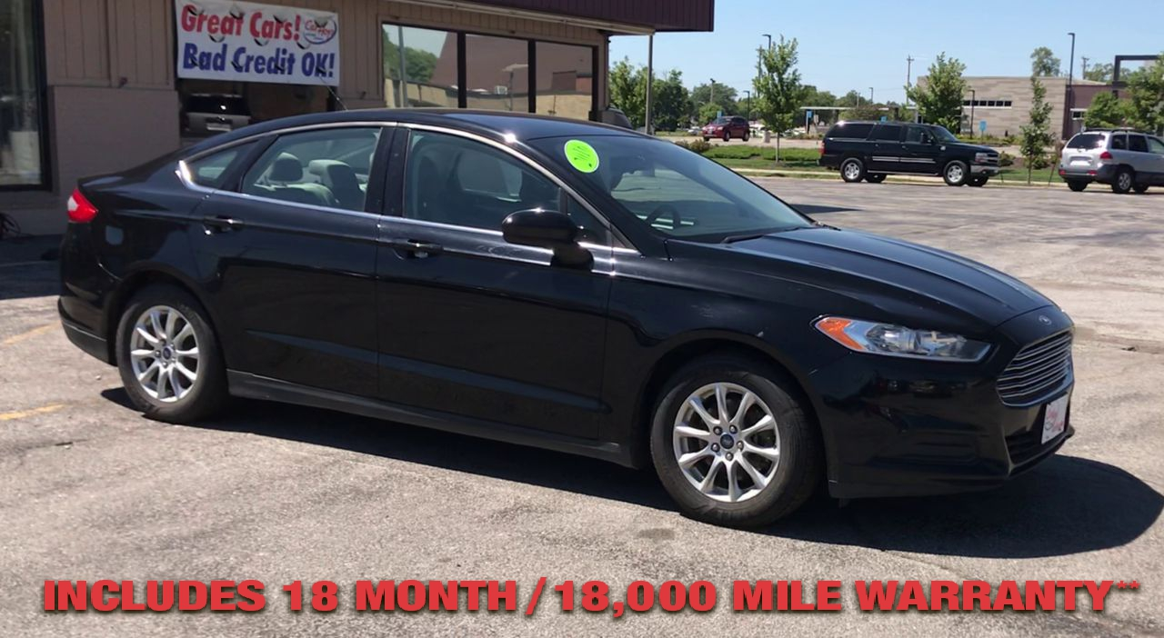 Pre-Owned 2016 FORD FUSION S Sedan 4D