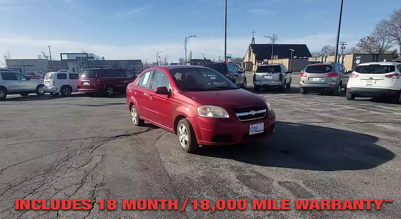 Pre-Owned 2011 CHEVROLET AVEO LS Sedan 4
