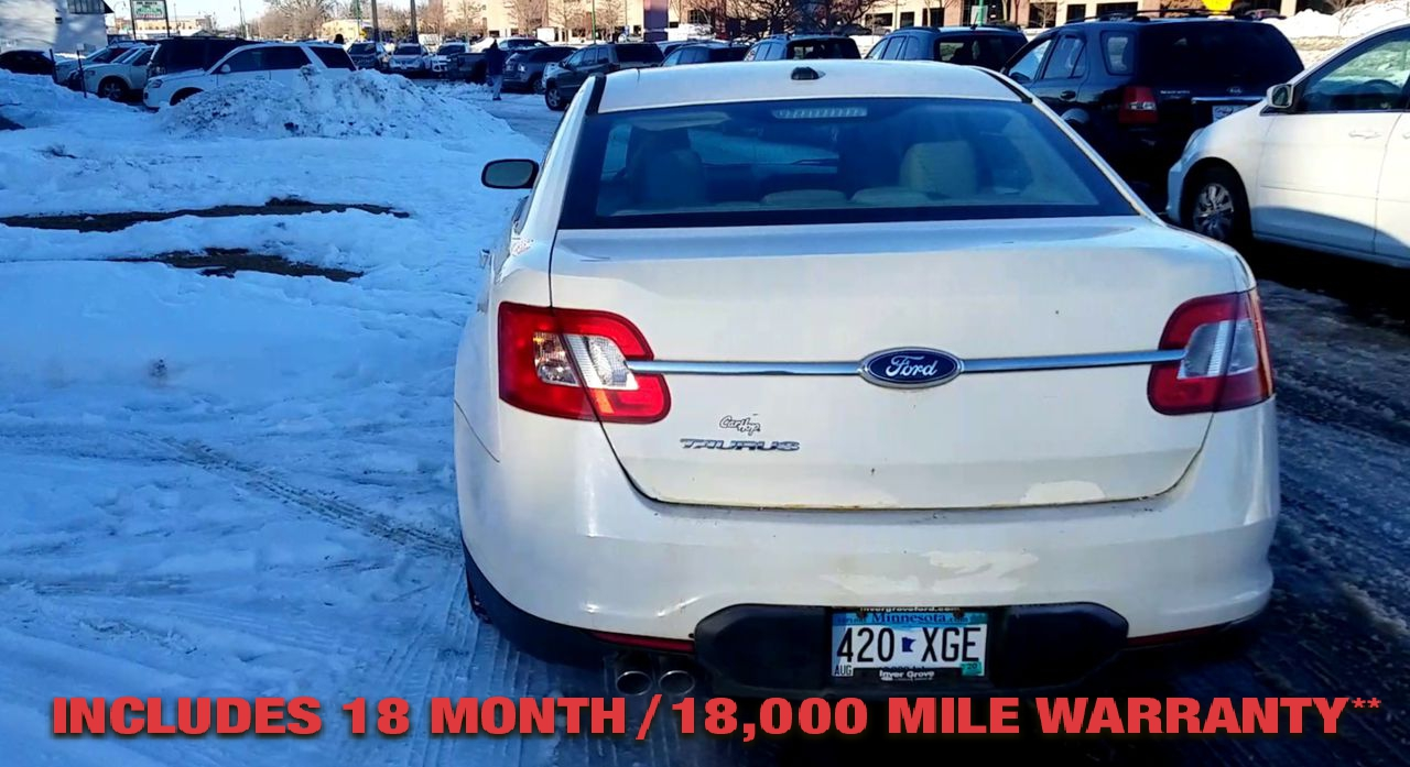 Pre-Owned 2011 FORD TAURUS SE Sedan 4