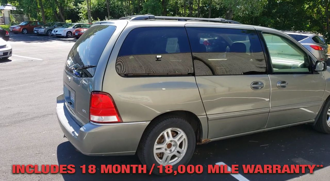 Pre-Owned 2005 FORD FREESTAR SEL MINIVA