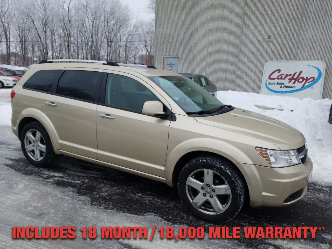 Pre-Owned 2010 DODGE JOURNEY R/T Sport