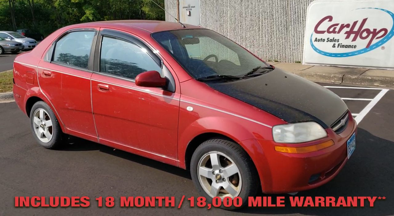 Pre-Owned 2006 CHEVROLET AVEO LS Sedan 4