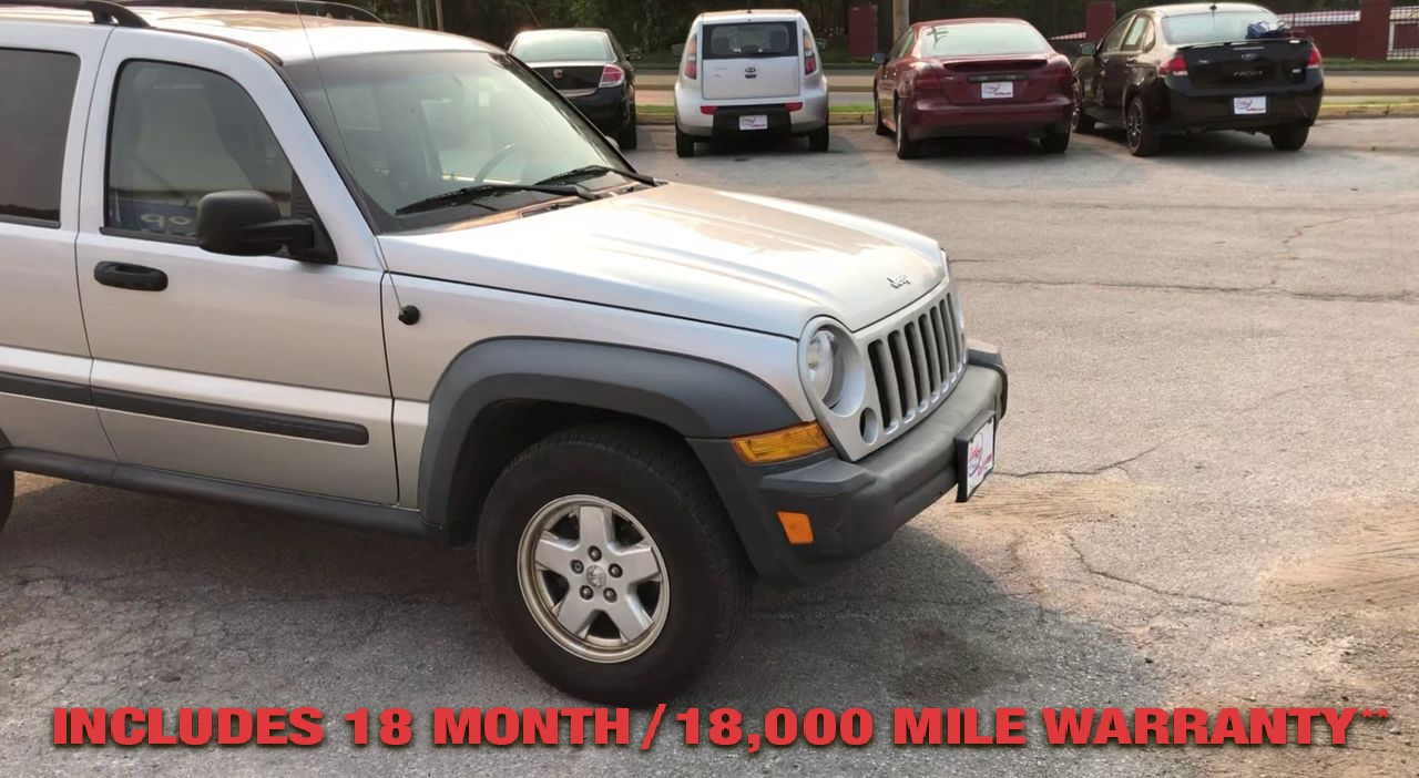 Pre-Owned 2007 JEEP LIBERTY SPORT UTIL