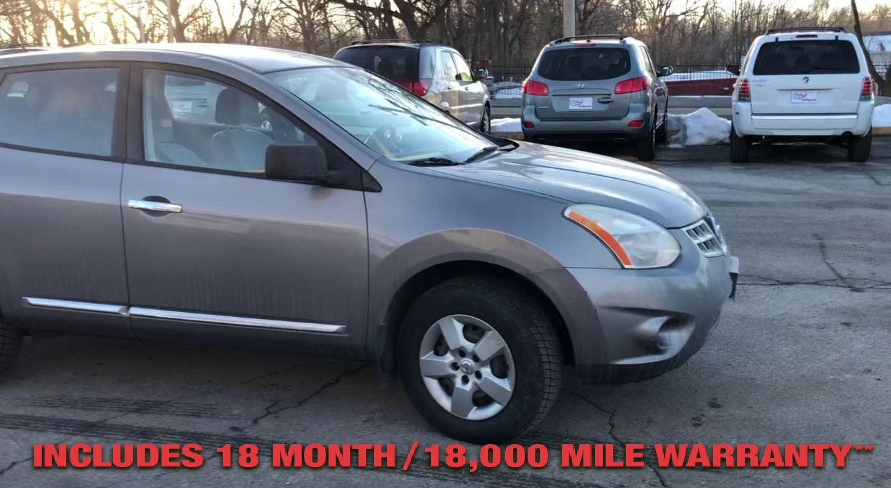 Pre-Owned 2012 NISSAN ROGUE S Sport Ut