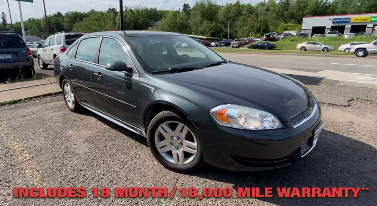 Pre-Owned 2014 CHEVROLET IMPALA LT Sedan 4