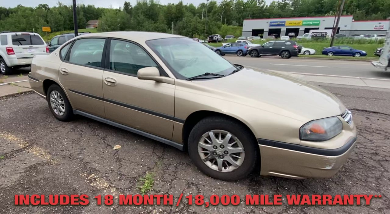 Pre-Owned 2005 CHEVROLET IMPALA Sedan 4D