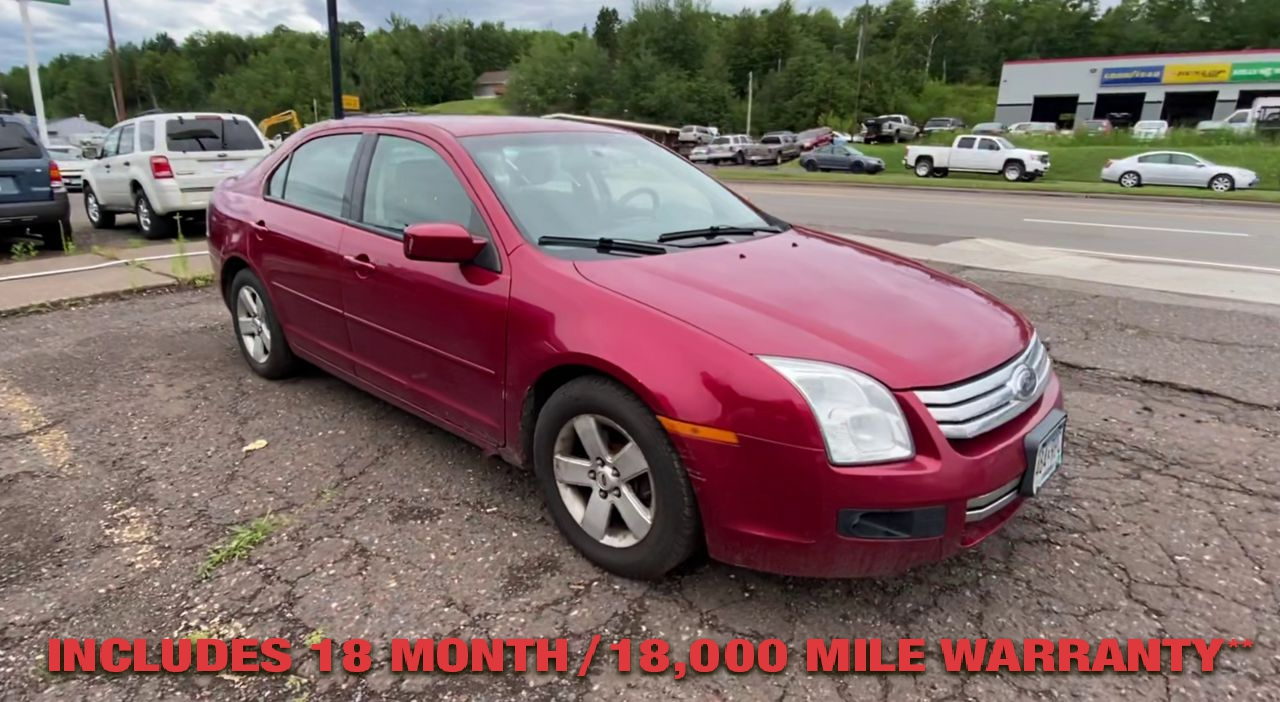 Pre-Owned 2008 FORD FUSION SE Sedan 4