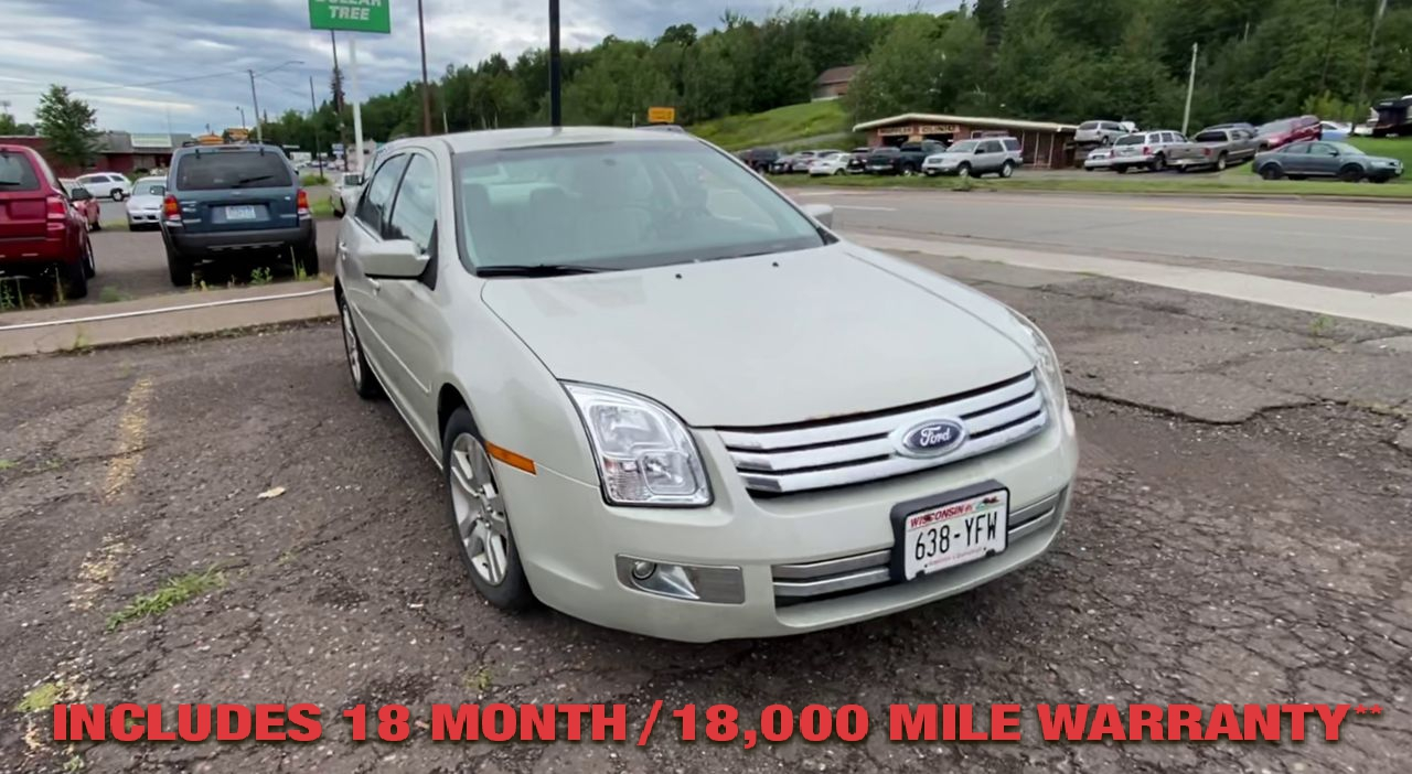 Pre-Owned 2008 FORD FUSION SEL Sedan