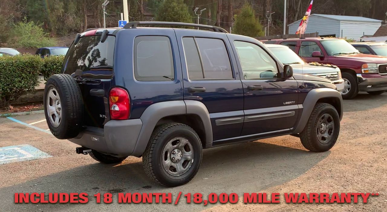 Pre-Owned 2004 JEEP LIBERTY Sport Util