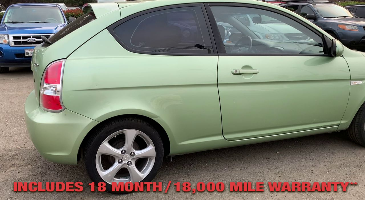 Pre-Owned 2008 HYUNDAI ACCENT SE Hatchba