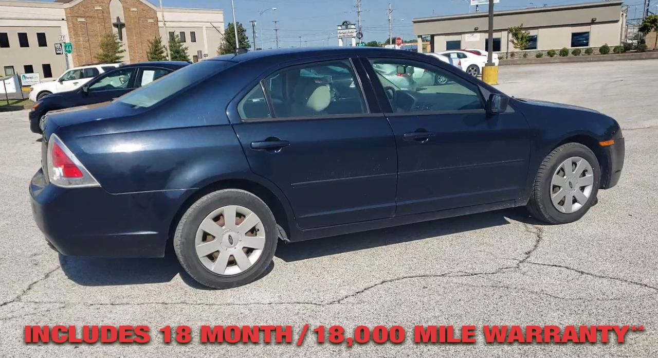 Pre-Owned 2008 FORD FUSION S Sedan 4D