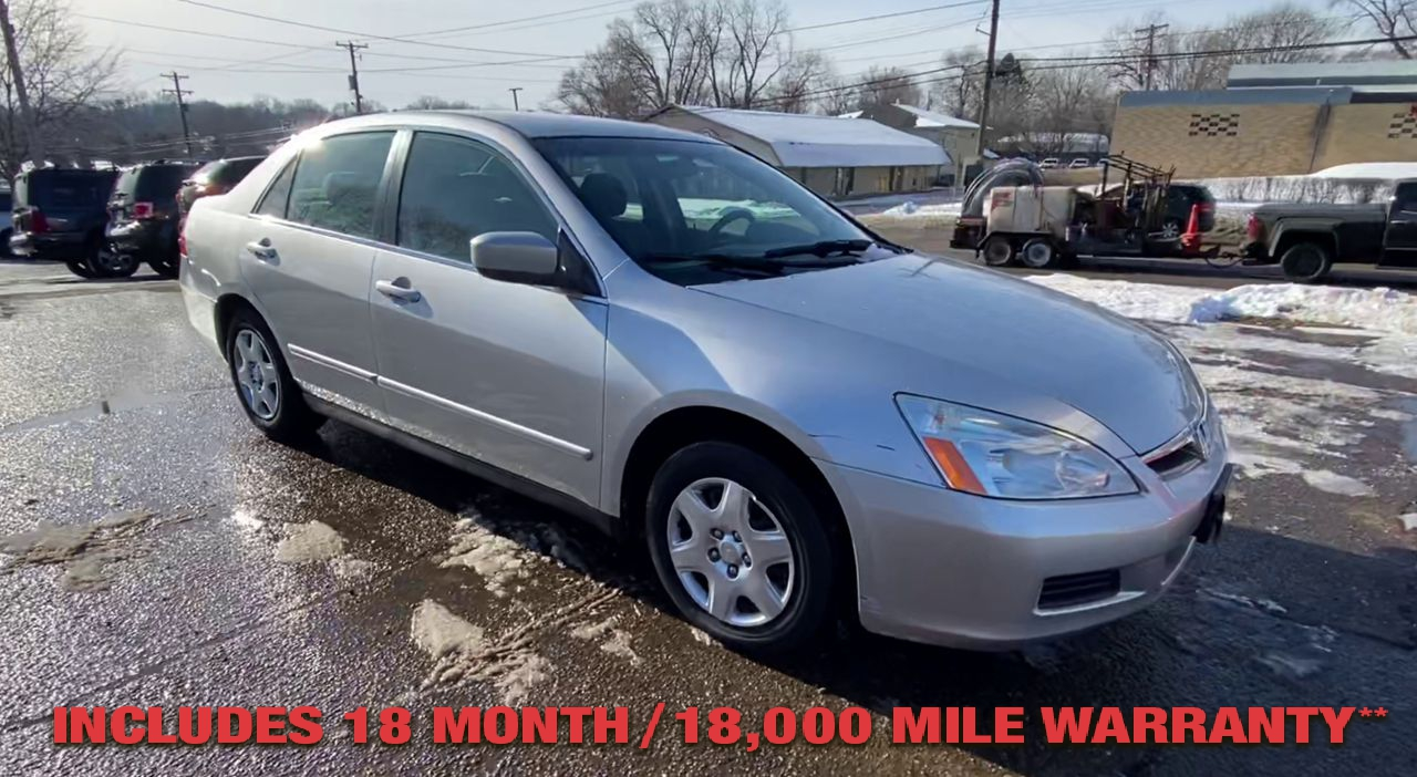 Pre-Owned 2007 Honda ACCORD LX Sedan 4