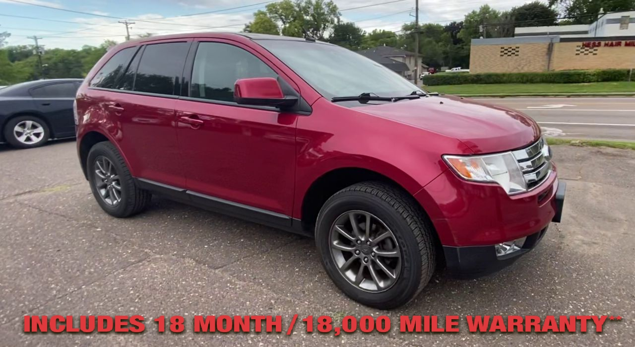 Pre-Owned 2008 FORD EDGE SEL Sport